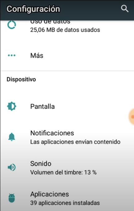 Tono de llamada en Android